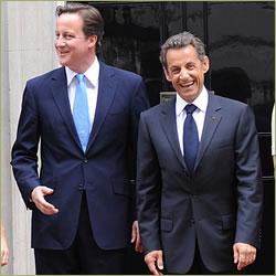 Dream publicity for Cameron and Sarkozy